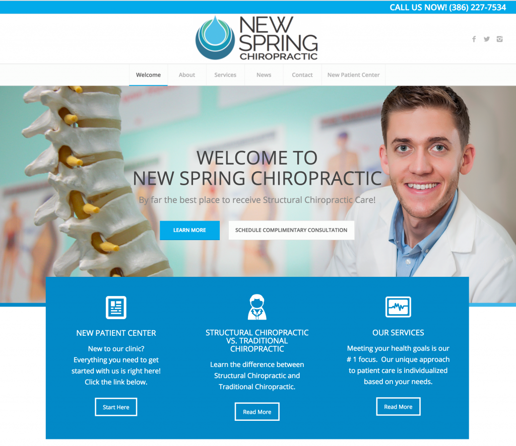 New Spring Chiropractic Case Study